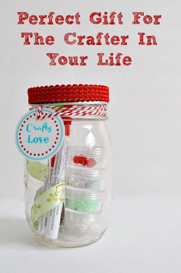 Cute DIY Mason Jar Gift Ideas for Teens - DIY Loves To Craft Mason Jar - Best Christmas Presents, Birthday Gifts and Cool Room Decor Ideas for Girls and Boy Teenagers - Fun Crafts and DIY Projects for Snow Globes, Dollar Store Crafts and Valentines for Kids