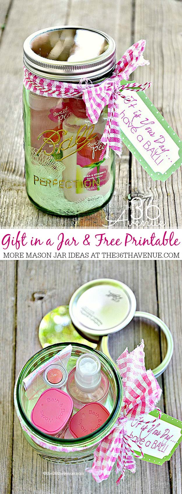 Cute DIY Mason Jar Gift Ideas For Teens