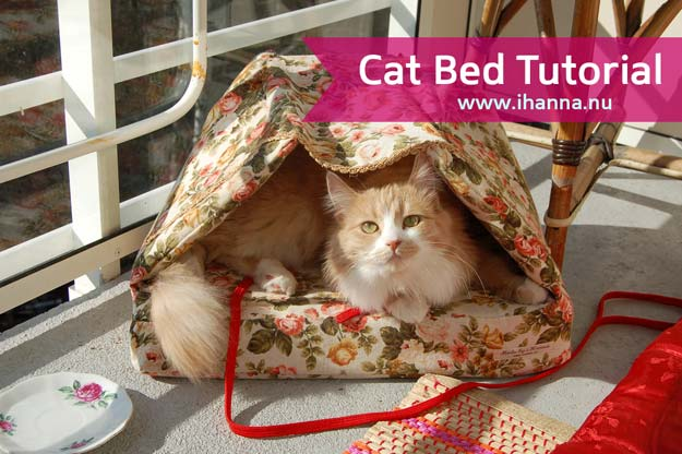 DIY Projects for Your Pet - Easy Cat Bed Tutorial - Cat and Dog Beds, Treats, Collars and Easy Crafts to Make for Toys - Homemade Dog Biscuits, Food and Treats - Fun Ideas for Teen, Tweens and Adults to Make for Pets http://diyprojectsforteens.com/diy-projects-pets