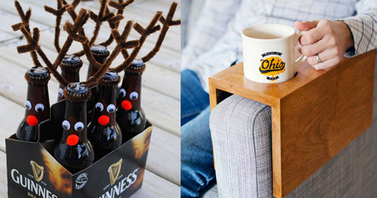 cool christmas gifts to make for your parents - Diy Christmas Gifts For Dad