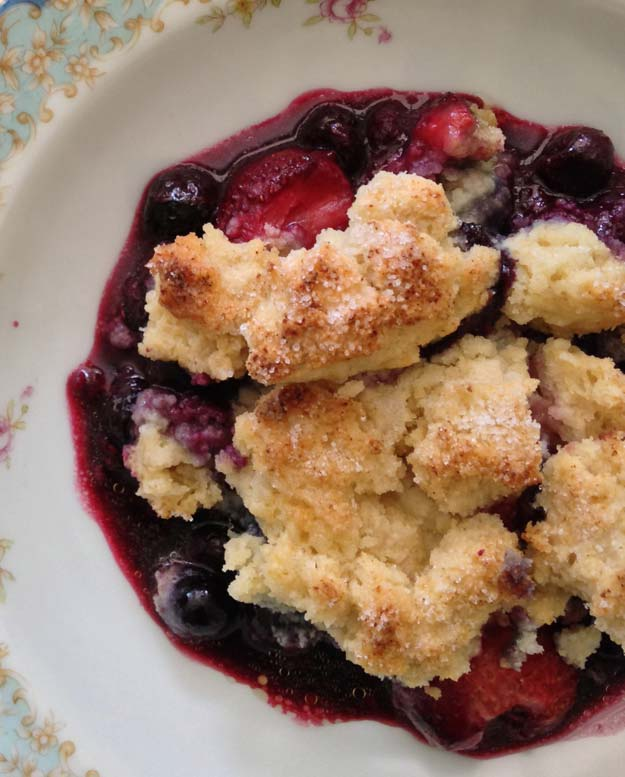 Cool and Easy Recipes For Teens to Make at Home - Hot Three Berry Cobbler For One - Fun Snacks, Simple Breakfasts, Lunch Ideas, Dinner and Dessert Recipe Tutorials - Teenagers Love These Fun Foods that Are Quick, Healthy and Delicious Ideas for Meals