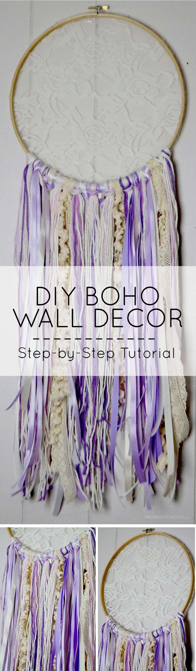 diy room decor projects step by step 26 fabulously purple diy room decor ideas 339