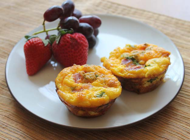 Cool and Easy Recipes For Teens to Make at Home - Easy Breakfast Casserole Muffins - Fun Snacks, Simple Breakfasts, Lunch Ideas, Dinner and Dessert Recipe Tutorials - Teenagers Love These Fun Foods that Are Quick, Healthy and Delicious Ideas for Meals