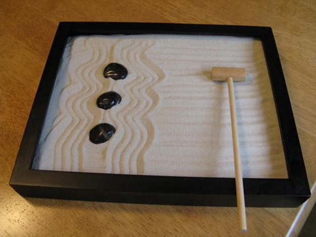 Cool DIY Gifts to Make For Your Boyfriend - DIY Zen Garden on a Budget - Easy, Cheap and Awesome Gift Ideas to Make for Guys - Fun Crafts and Presents to Give to Boyfriends - Men Love These Gift Card Holders, Mason Jar Kits, Thoughtful Handmade Christmas Gifts - DIY Projects for Teens http://diyprojectsforteens.com/diy-gifts-boyfriend