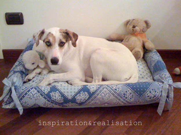 DIY Projects for Your Pet -Cheap and Easy Pet Bed Tutorial- Cat and Dog Beds, Treats, Collars and Easy Crafts to Make for Toys - Homemade Dog Biscuits, Food and Treats - Fun Ideas for Teen, Tweens and Adults to Make for Pets http://diyprojectsforteens.com/diy-projects-pets