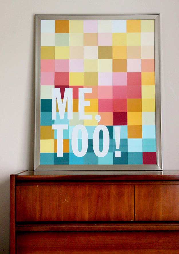 DIY Wall Art Ideas for Teen Rooms - DIY Modern Wall Art - Cheap and Easy Wall Art Projects for Teenagers - Girls and Boys Crafts for Walls in Bedrooms - Fun Home Decor on A Budget - Cool Canvas Art, Paintings and DIY Projects for Teens