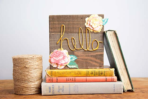 Cool Glue Gun Crafts and DIY Projects - DIY Fall Sign with Mod Melts - Creative Ways to Use Your Glue Gun for Awesome Home Decor, DIY Gifts , Jewelry and Fashion - Fun Projects and Easy, Cheap DIY Ideas for Kids, Adults and Teens - Handmade Christmas Presents on A Budget http://diyprojectsforteens.com/fun-glue-gun-crafts/