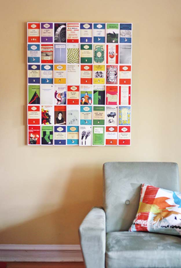 DIY Wall Art Ideas For Teen Rooms   DIY Postcard Wall Art   Cheap And Easy