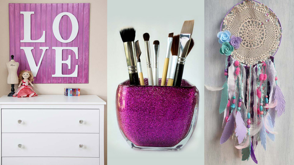 26 fabulously purple diy room decor ideas - Diy Room Decor Ideas