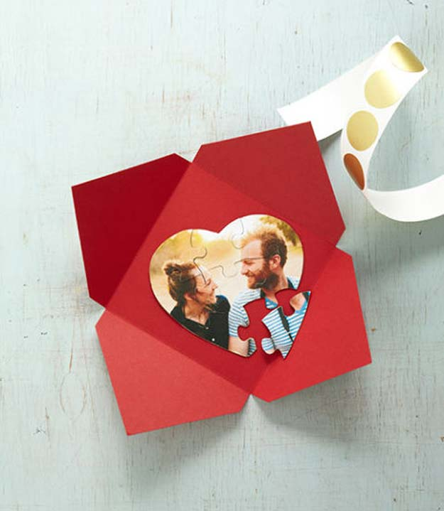 diy valentine gifts custom puzzle gifts for her and him teens teenagers