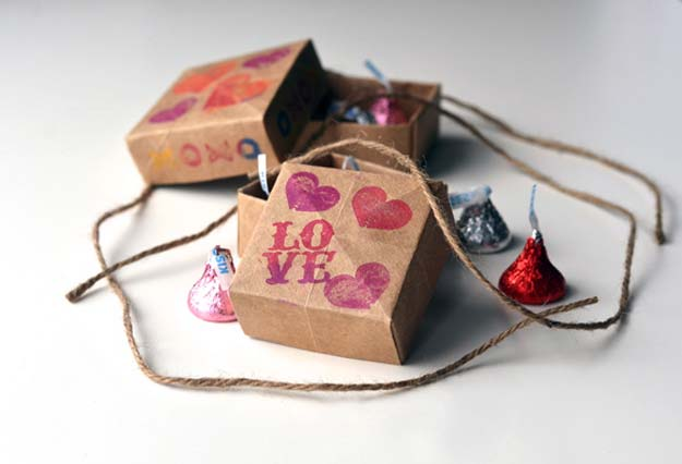 DIY Valentine Gifts - Origami Treat Boxes - Gifts for Her and Him, Teens, Teenagers and Tweens - Mason Jar Ideas, Homemade Cards, Cheap and Easy Gift Ideas for Valentine Presents http://diyprojectsforteens.com/diy-valentine-gifts