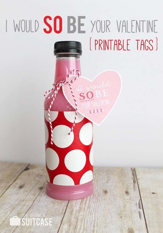 DIY Valentine Gifts - I Would So Be Your Valentine - Gifts for Her and Him, Teens, Teenagers and Tweens - Mason Jar Ideas, Homemade Cards, Cheap and Easy Gift Ideas for Valentine Presents http://diyprojectsforteens.com/diy-valentine-gifts