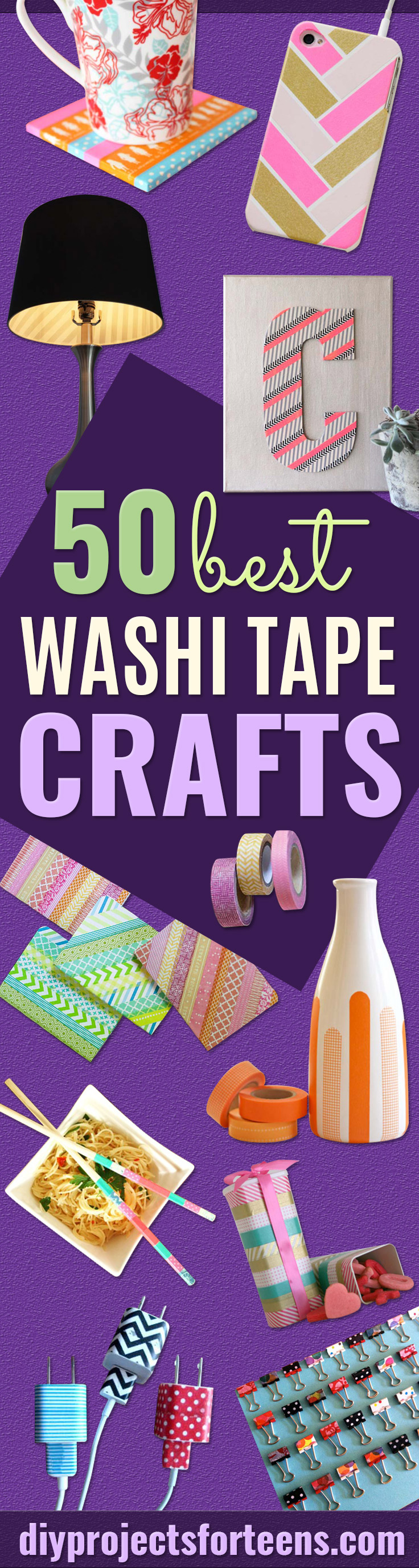 Washi Tape Crafts 50 Best Washi Tape Crafts  Diy Projects For Teens