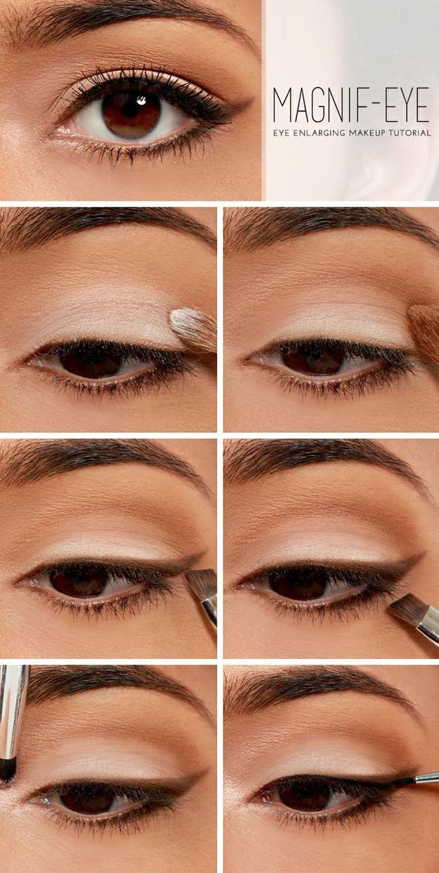 Best Makeup Tutorials for Teens -Magnify Your Eyes - Easy Makeup Ideas for Beginners -