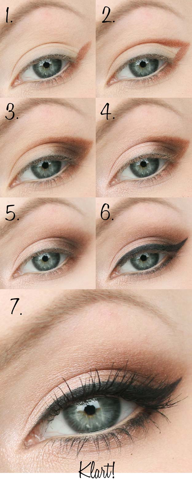 Best Eyeshadow Tutorials - Almond Shaped Eyes - Easy Step by Step How To For Eye Shadow - Cool Makeup Tricks and Eye Makeup Tutorial With Instructions - Quick Ways to Do Smoky Eye, Natural Makeup, Looks for Day and Evening, Brown and Blue Eyes - Cool Ideas for Beginners and Teens http://diyprojectsforteens.com/best-eyeshadow-tutorials