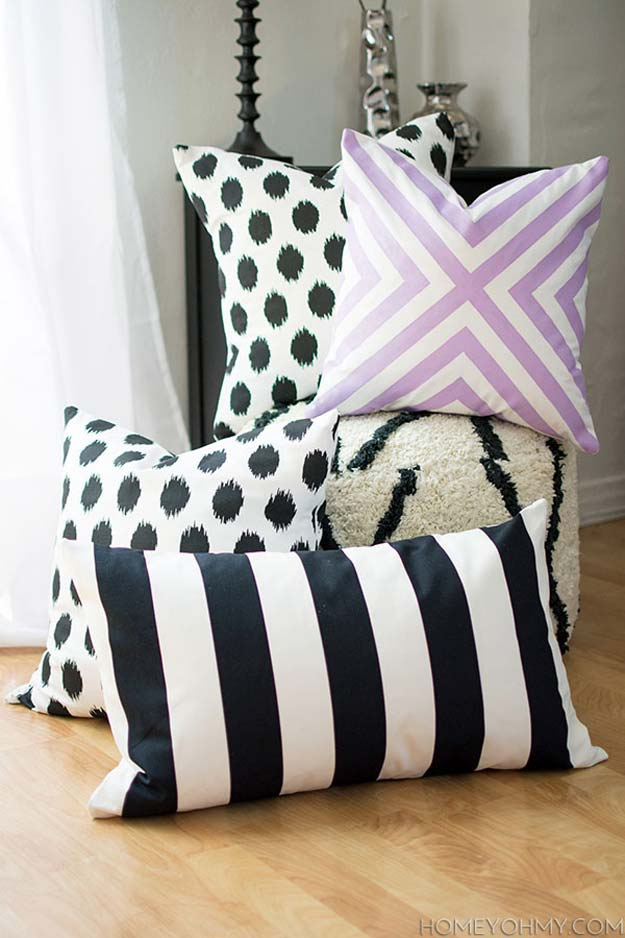 45 Fun DIY pillows - DIY Projects for Teens