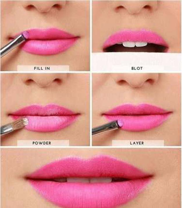 Lipstick Tutorials - Best Step by Step Makeup Tutorial How To - Easy Steps Long Lasting Lipstick - Easy and Quick Ways to Apply Lipstick and Awesome Beauty Ideas - Cool Ideas for Teen Makeup for School, Party and Special Occasion - Makeup Tutorials for Beginners - Lip Liner Tips and Tricks to Add Volume, DIY Lip Techniques for Fuller Lips - DIY Projects and Crafts for Teens