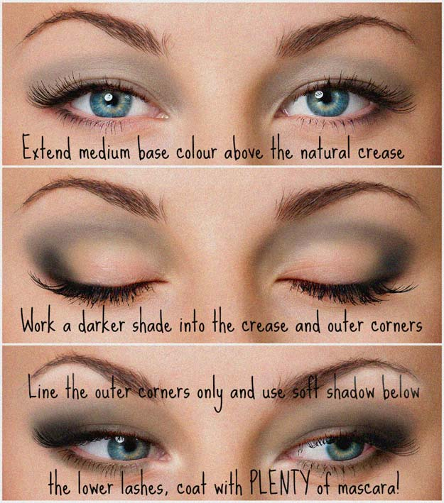 Best Eyeshadow Tutorials - Hoodwinked - Easy Step by Step How To For Eye Shadow - Cool Makeup Tricks and Eye Makeup Tutorial With Instructions - Quick Ways to Do Smoky Eye, Natural Makeup, Looks for Day and Evening, Brown and Blue Eyes - Cool Ideas for Beginners and Teens http://diyprojectsforteens.com/best-eyeshadow-tutorials