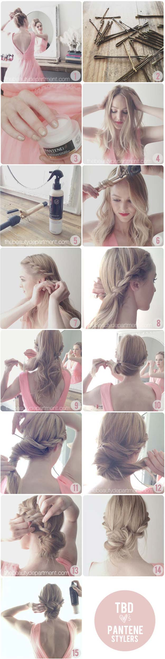 Best Hair Braiding Tutorials - Rop Braid Chignon - Easy Step by Step Tutorials for Braids - How To Braid Fishtail, French Braids, Flower Crown, Side Braids, Cornrows, Updos - Cool Braided Hairstyles for Girls, Teens and Women - School, Day and Evening, Boho, Casual and Formal Looks #hairstyles #braiding #braidingtutorials #diyhair