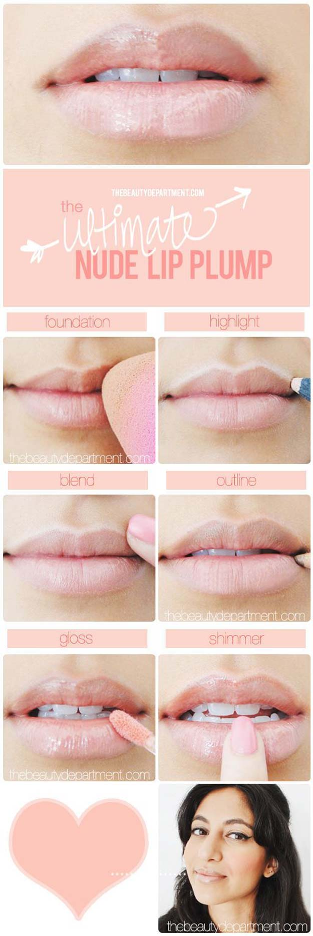 Lipstick Tutorials - Best Step by Step Makeup Tutorial How To - The Uptown Lip - Easy and Quick Ways to Apply Lipstick and Awesome Beauty Ideas - Cool Ideas for Teen Makeup for School, Party and Special Occasion - Makeup Tutorials for Beginners - Lip Liner Tips and Tricks to Add Volume, DIY Lip Techniques for Fuller Lips - DIY Projects and Crafts for Teens