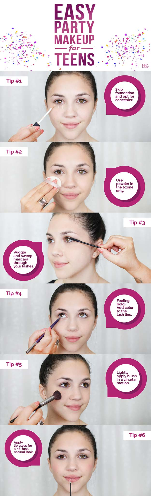 Step By Step Simple Makeup Tutorial