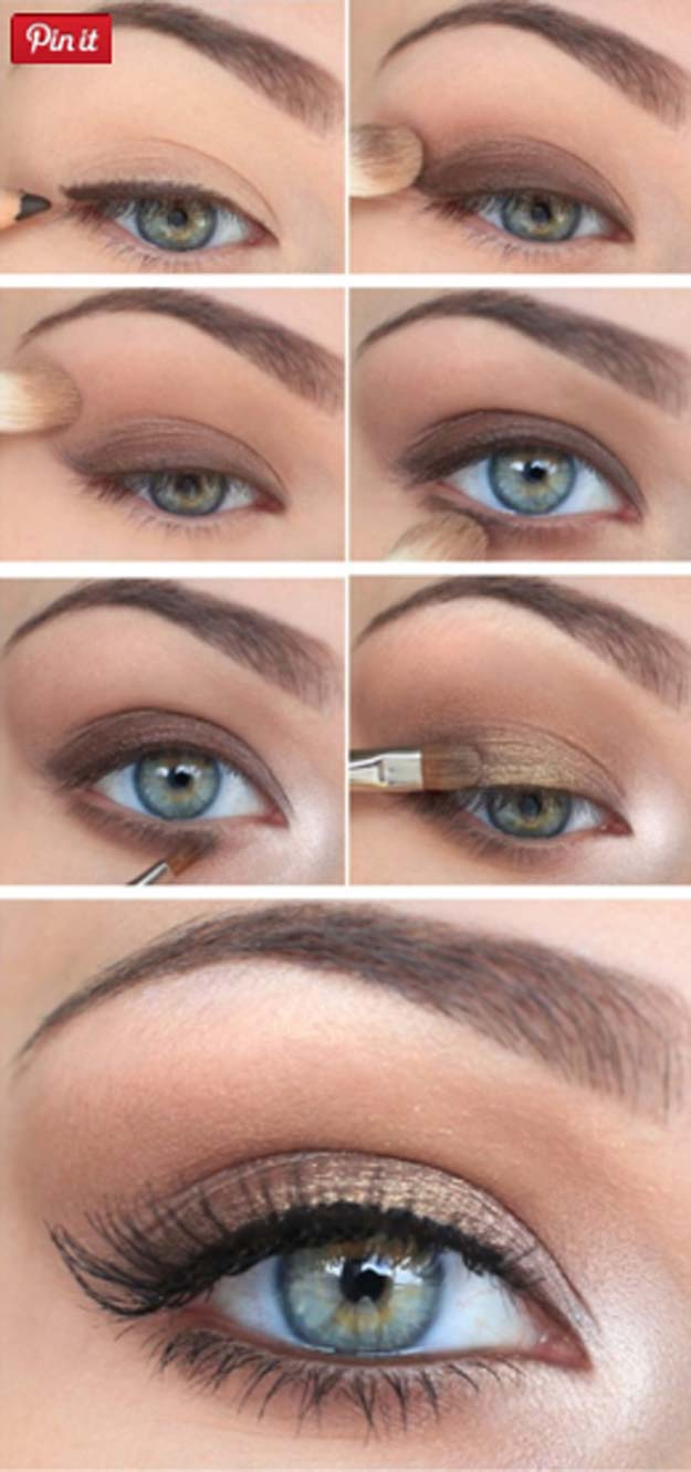 Best Eyeshadow Tutorials - Victoria's Secret Eye Makeup - Easy Step by Step How To For Eye Shadow - Cool Makeup Tricks and Eye Makeup Tutorial With Instructions - Quick Ways to Do Smoky Eye, Natural Makeup, Looks for Day and Evening, Brown and Blue Eyes - Cool Ideas for Beginners and Teens http://diyprojectsforteens.com/best-eyeshadow-tutorials