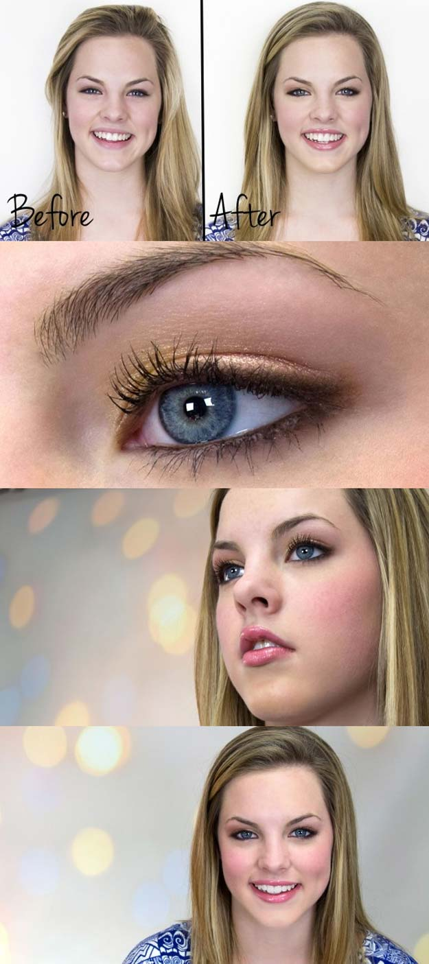 Best Makeup Tutorials for Teens -Party Makeup for Teens using Drugstore Products! - Easy Makeup Ideas for Beginners - Step by Step Tutorials for Foundation, Eye Shadow, Lipstick, Cheeks, Contour, Eyebrows and Eyes - Awesome Makeup Hacks and Tips for Simple DIY Beauty - Day and Evening Looks http://diyprojectsforteens.com/makeup-tutorials-teens