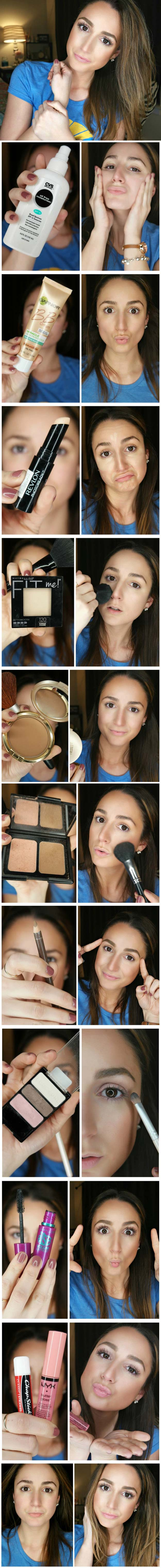 Best Makeup Tutorials for Teens -5 Minute Everyday Makeup Routine - Easy Makeup Ideas for
