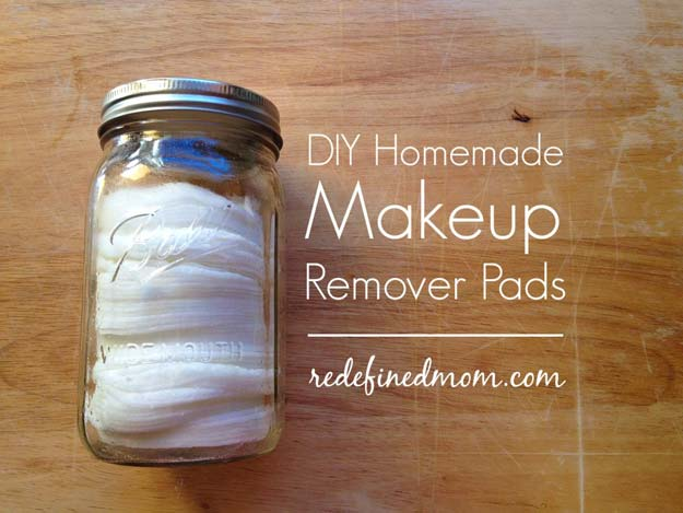 Best Beauty Hacks - DIY Homemade Makeup Remover Pads - Easy Makeup Tutorials and Makeup Ideas for Teens, Beginners, Women, Teenagers - Cool Tips and Tricks for Mascara, Lipstick, Foundation, Hair, Blush, Eyeshadow, Eyebrows and Eyes - Step by Step Tutorials and How To http://diyprojectsforteens.com/best-beauty-hacks