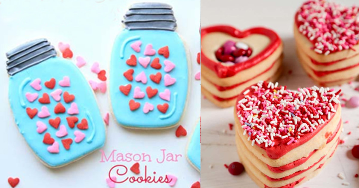 41 Easy Valentine Cookie Recipes