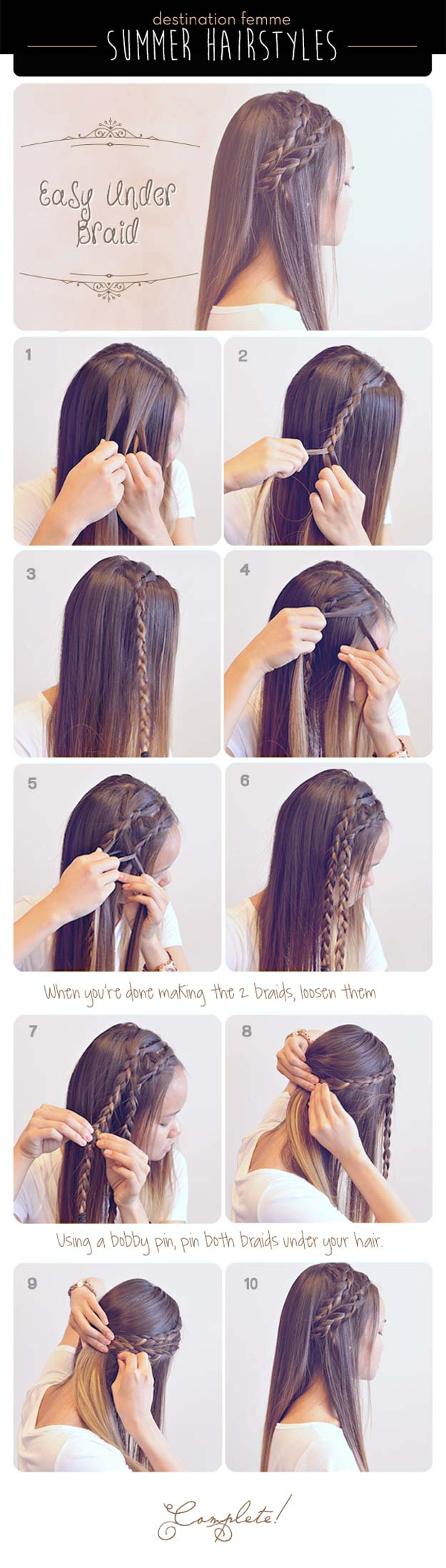 Fabulous 40 Of The Best Cute Hair Braiding Tutorials Diy Projects For Teens Hairstyle Inspiration Daily Dogsangcom