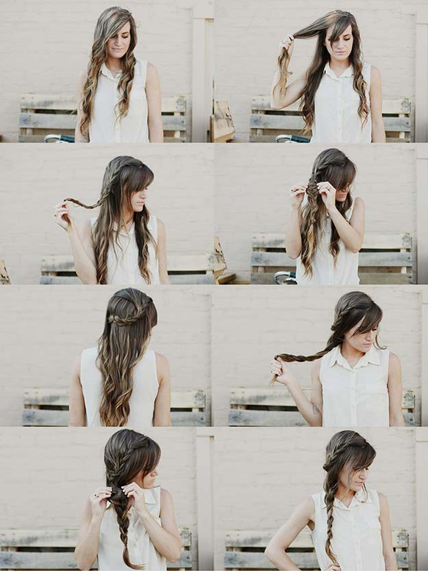 Best Hair Braiding Tutorials - Double Braid Hair Tutorial - Easy Step by Step Tutorials for Braids - How To Braid Fishtail, French Braids, Flower Crown, Side Braids, Cornrows, Updos - Cool Braided Hairstyles for Girls, Teens and Women - School, Day and Evening, Boho, Casual and Formal Looks #hairstyles #braiding #braidingtutorials #diyhair