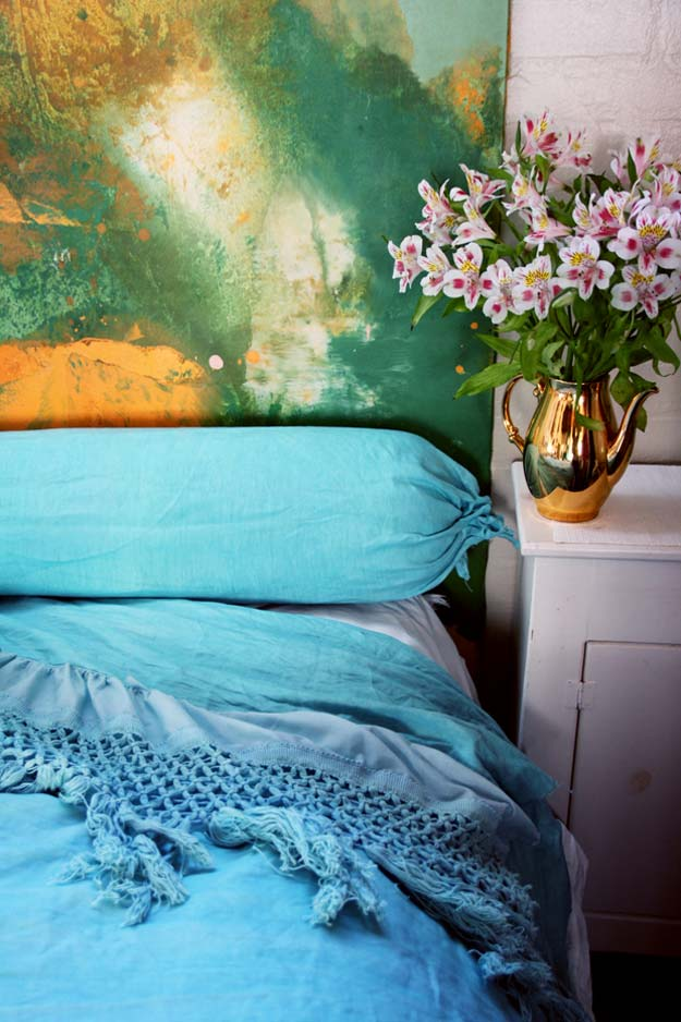 Cool DIY Ideas for Your Bed - DIY Cozy Linen Duvet - Fun Bedding, Pillows, Blankets, Home Decor and Crafts to Make Your Bedroom Awesome - Easy Step by Step Tutorials for Making A T-Shirt Pillow, Knit Throws, Fuzzy and Furry Warm Blankets and Handmade DYI Bedding, Sheets, Bedskirts and Shams
