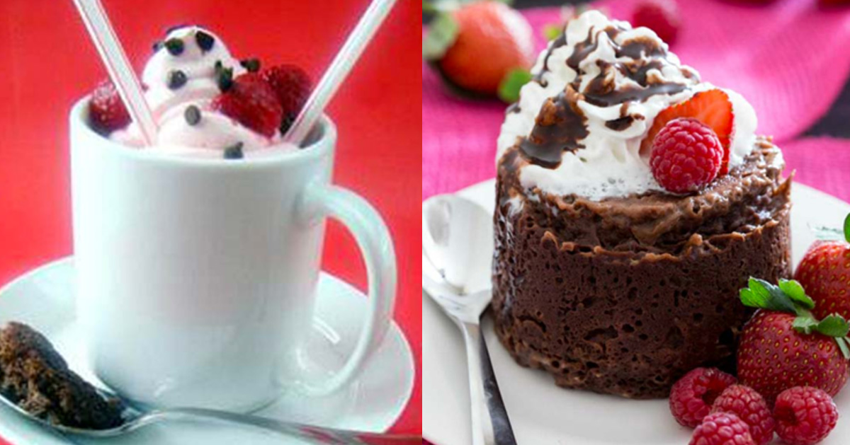 Easy Mug Cake Recipes - Best Mug Cakes