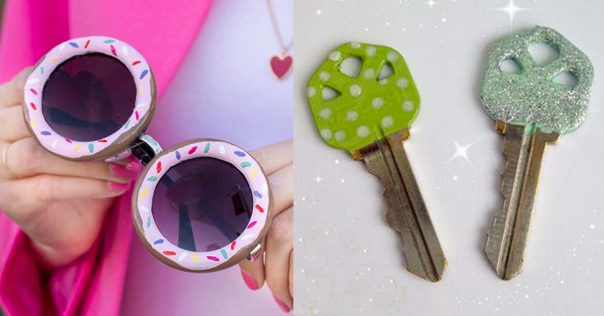25 More Awesome Nail Polish Crafts
