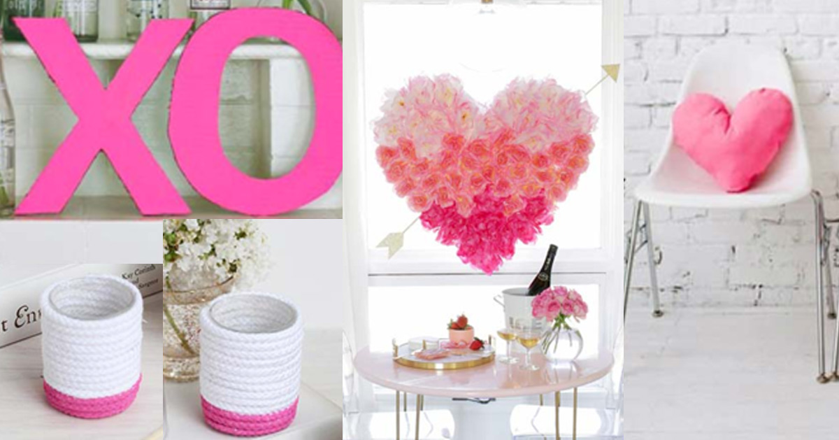 DIY Ideas for the Bedroom - Pink Room Decor for Teens, Teenagers, Tweens and Adults