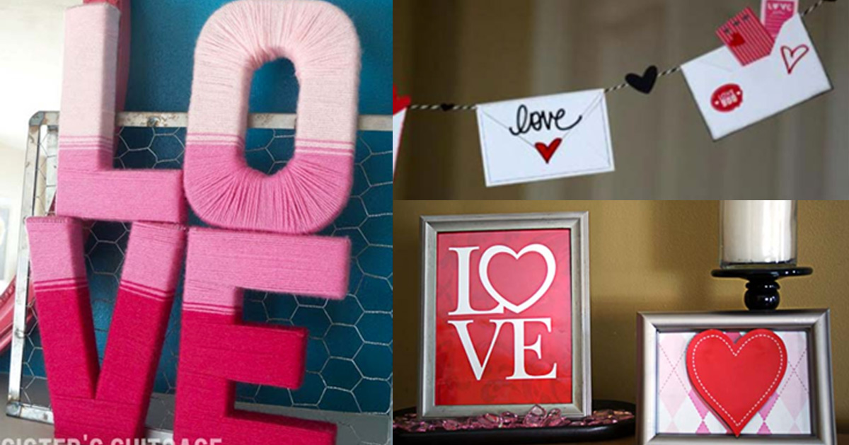 DIY Valentines Day Decor Ideas