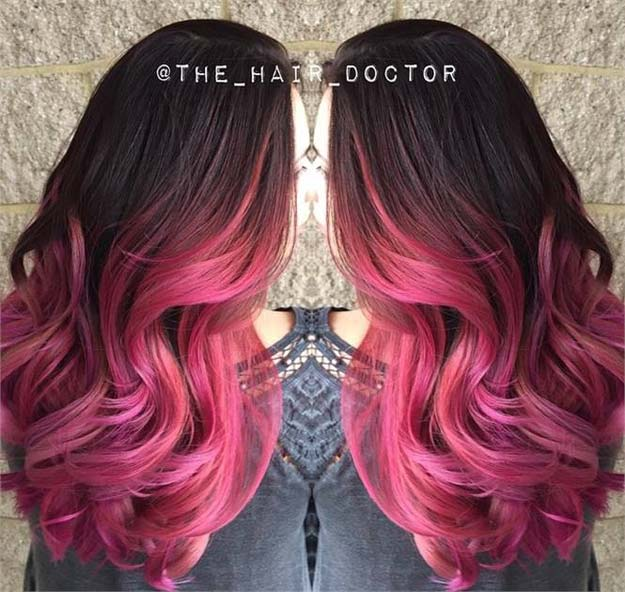 Creative DIY Hair Tutorials - Formula: Rose Ombre - Color, Rainbow, Galaxy and Unique Styles for Long, Short and Medium Hair - Braids, Dyes, Instructions for Teens and Women http://diyprojectsforteens.com/creative-hair-tutorials
