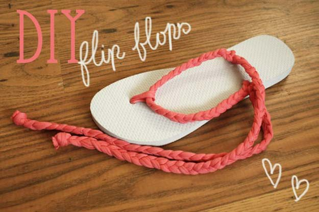 DIY Sandals and Flip Flops - Macramé Sandals - Creative, Cool and Easy Ways to Make or Update Your Shoes - Decorate Flip Flops with Cheap Dollar Store Crafts and Ideas - Beaded, Leather, Strappy and Painted Sandal Projects - Fun DIY Projects and Crafts for Teens and Teenagers