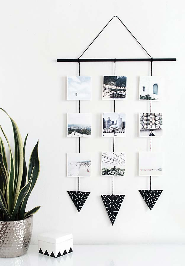 35 Diy Room Decor Ideas In Black And White Diy Projects For Teens