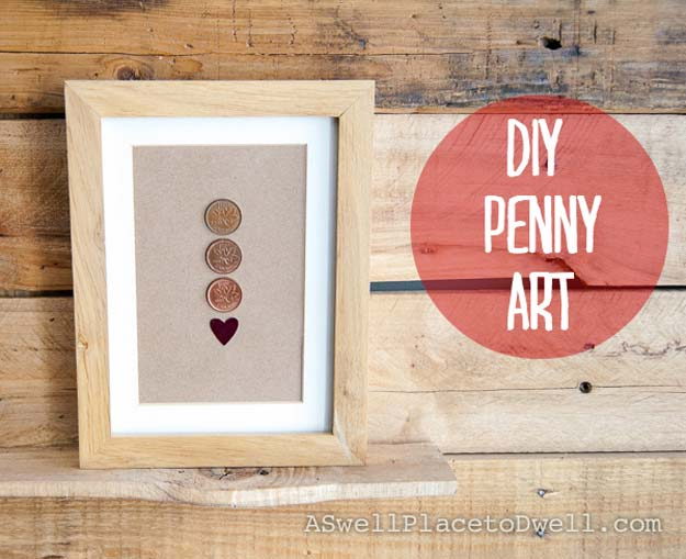 Cool DIYs Made With Pennies and Coins - The Last Great Penny - Penny Walls, Floors, DIY Penny Table. Art With Pennies, Walls and Furniture Make With Money and Coins. Cool, Creative Tutorials, Home Decor and DIY Projects Made With Old Pennies - Cool DIY Projects and Crafts for Teens
