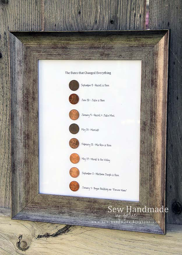 Cool DIYs Made With Pennies and Coins - The Days of Our Lives - Penny Walls, Floors, DIY Penny Table. Art With Pennies, Walls and Furniture Make With Money and Coins. Cool, Creative Tutorials, Home Decor and DIY Projects Made With Old Pennies - Cool DIY Projects and Crafts for Teens