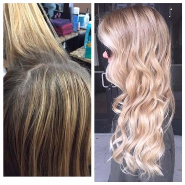 Creative DIY Hair Tutorials - Balayage and Babylights For A Better Blonde - Color, Rainbow, Galaxy and Unique Styles for Long, Short and Medium Hair - Braids, Dyes, Instructions for Teens and Women #hairstyles #hairideas #beauty #teens #easyhairstyles