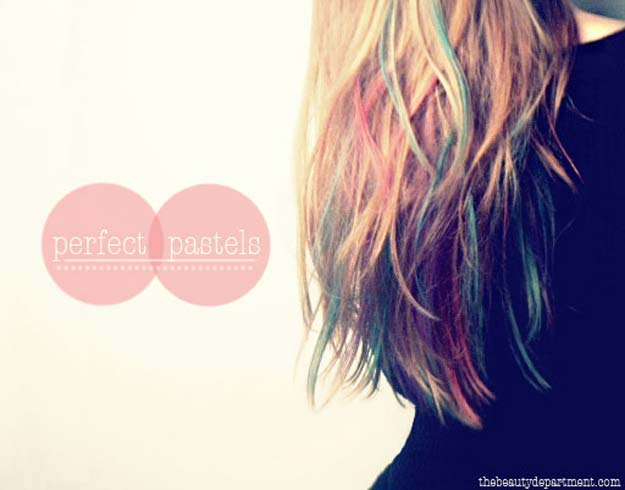 Creative DIY Hair Tutorials - Chalk It Up - Color, Rainbow, Galaxy and Unique Styles for Long, Short and Medium Hair - Braids, Dyes, Instructions for Teens and Women #hairstyles #hairideas #beauty #teens #easyhairstyles