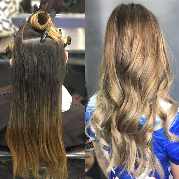 Creative DIY Hair Tutorials - Grown Out To Modern Sombre - Color, Rainbow, Galaxy and Unique Styles for Long, Short and Medium Hair - Braids, Dyes, Instructions for Teens and Women #hairstyles #hairideas #beauty #teens #easyhairstyles