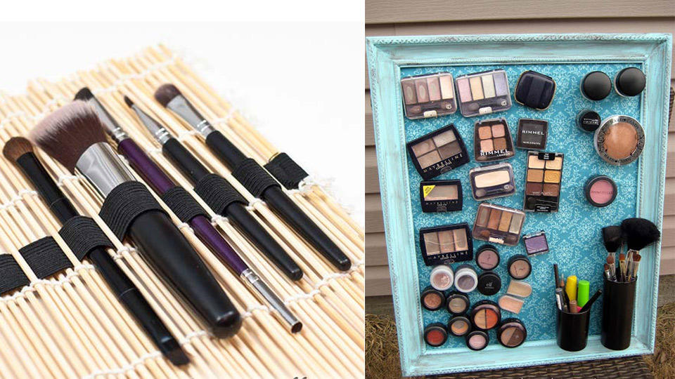 30 Best DIY Makeup Organizing Ideas
