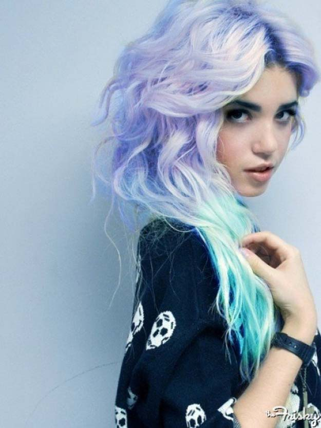 Creative DIY Hair Tutorials - Dye Your Hair a Pastel Color - Color, Rainbow, Galaxy and Unique Styles for Long, Short and Medium Hair - Braids, Dyes, Instructions for Teens and Women #hairstyles #hairideas #beauty #teens #easyhairstyles