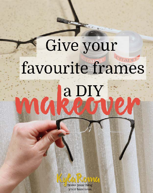 DIY Sunglasses Makeovers - Glasses Frame Makeover - Fun Ways to Decorate and Embellish Sunglasses - Embroider, Paint, Add Jewels and Glitter to Your Shades - Cheap and Easy Projects and Crafts for Teens #diy #teencrafts #sunglasses