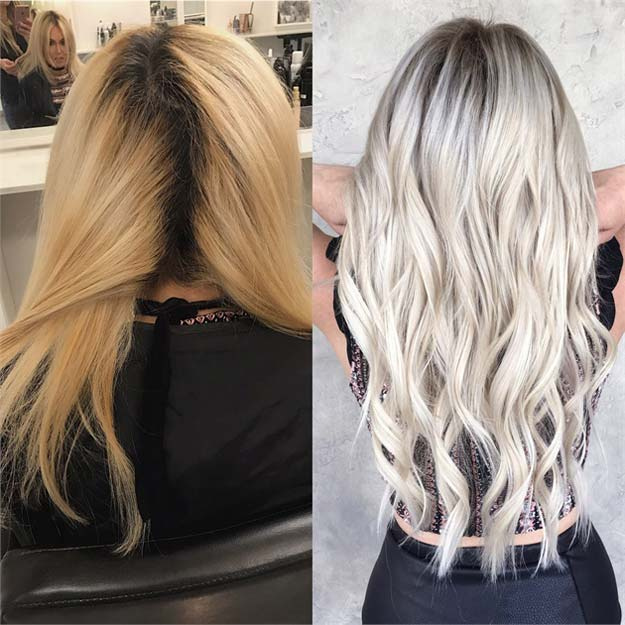 Creative DIY Hair Tutorials - Killing the Brass For A Bright Ashy Blonde - Color, Rainbow, Galaxy and Unique Styles for Long, Short and Medium Hair - Braids, Dyes, Instructions for Teens and Women #hairstyles #hairideas #beauty #teens #easyhairstyles