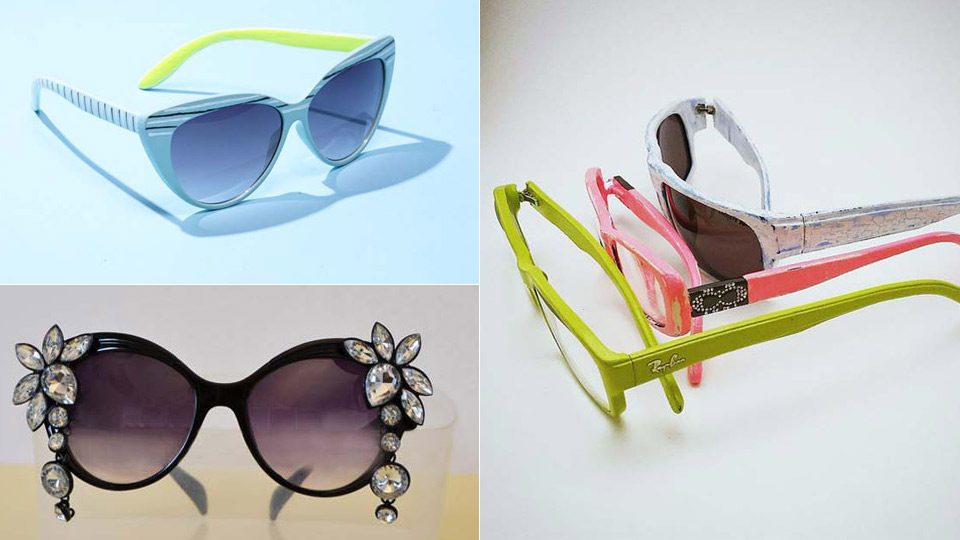 35 Super Stylish DIY Sunglasses Makeovers